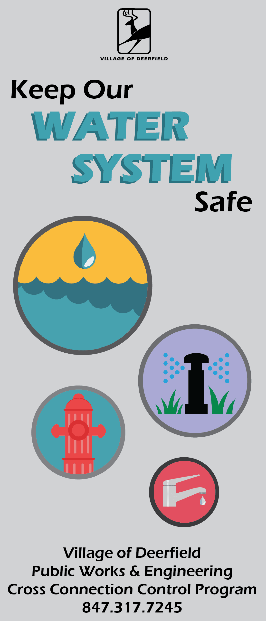 Keep Our Water System Safe