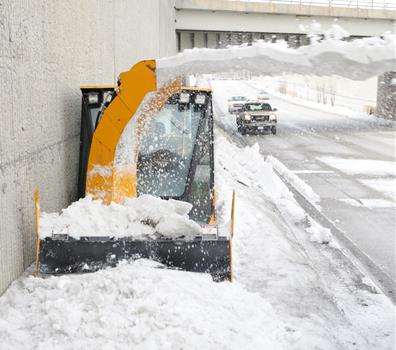 Sidewalk Snow Clearing
