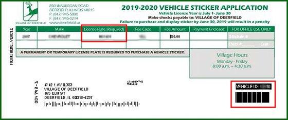 Vehicle Sticker Test Application