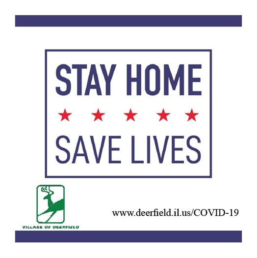 Stay Home - Save Lives