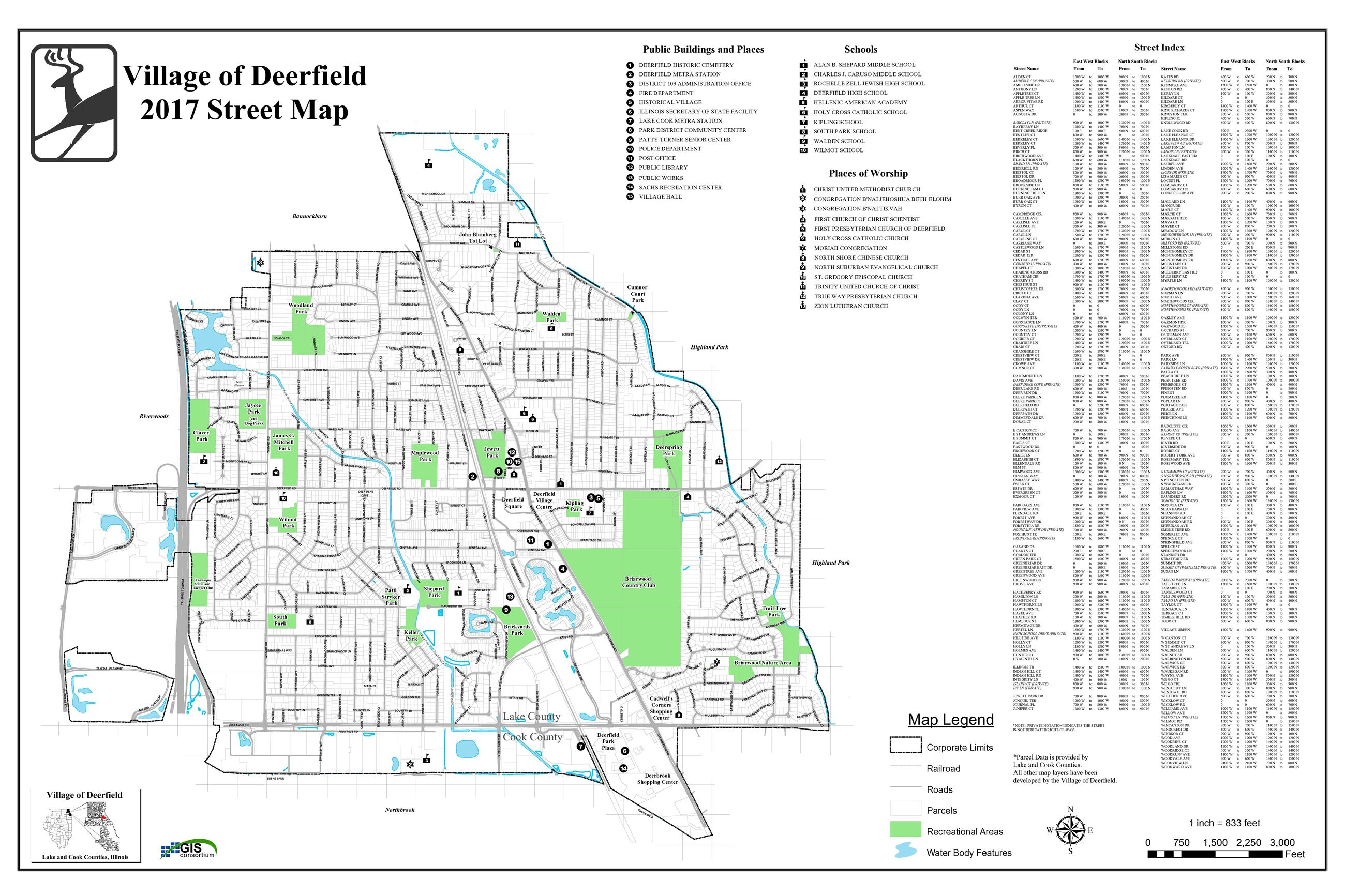 Interactive Maps & Community Portal | Deerfield, IL