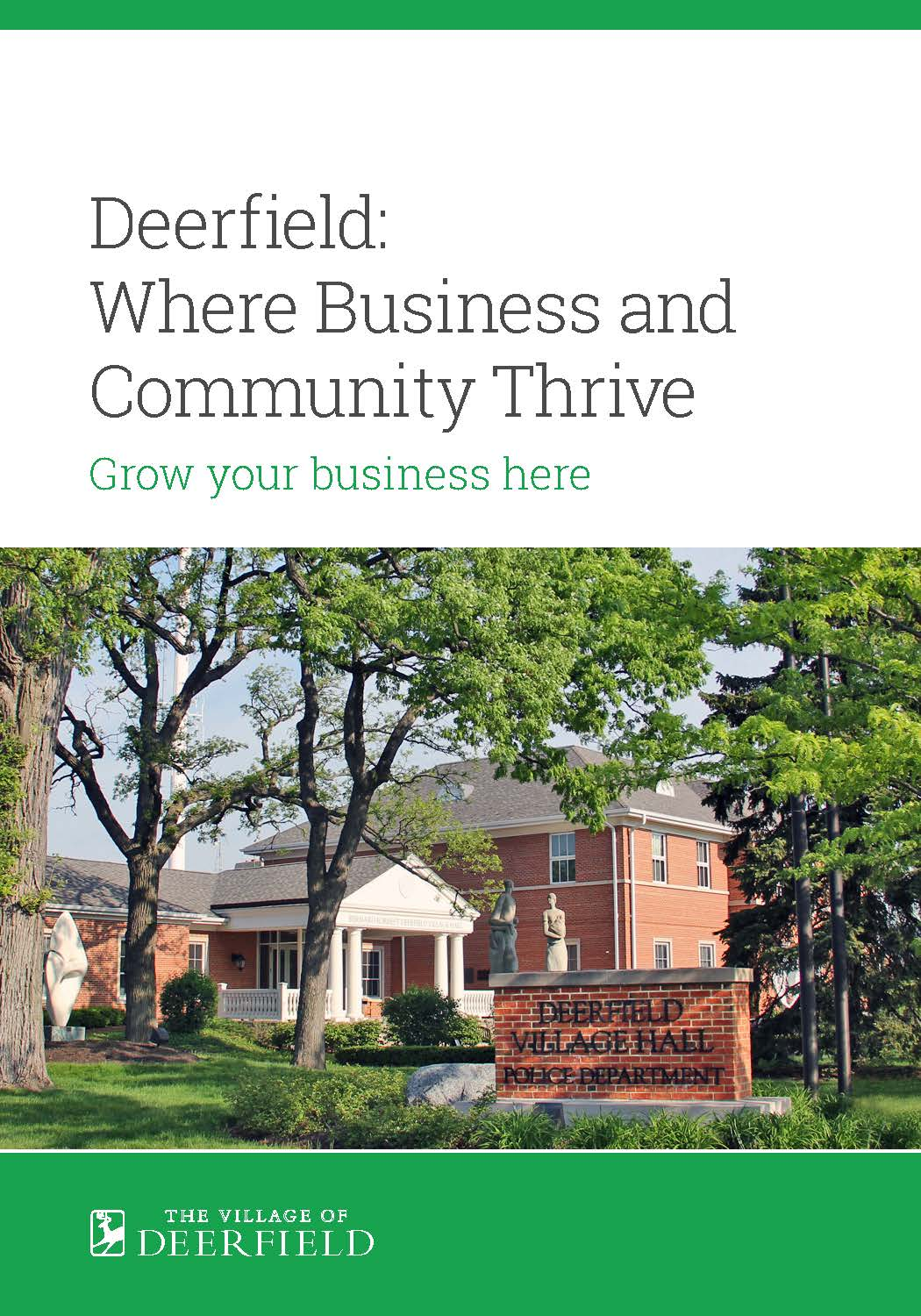 Why Locate Your Business in Deerfield
