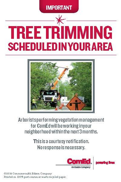 ComEd Tree Trimming