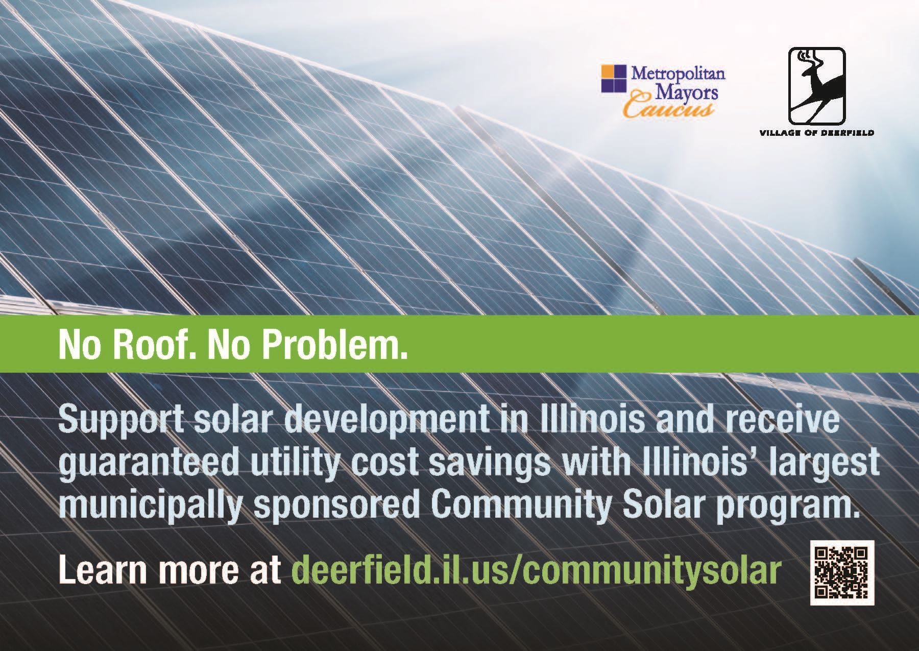 Deerfield Postcard Community Solar Program